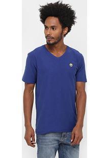 Camiseta Timberland Ss Dunstan River V Neck - Masculino