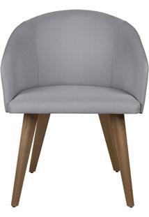 Cadeira Arlete - Cinza Claro