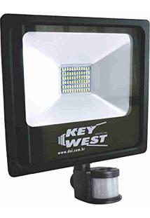 Refletor Holofote Com Sensor De Presença 30W - Dni 6035