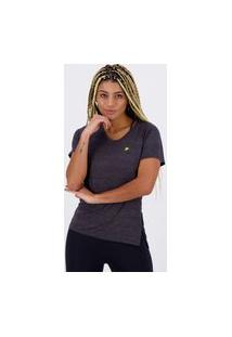 Camiseta Fila Match Feminina Chumbo Mescla