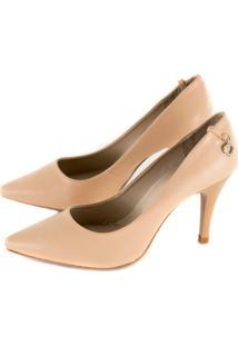 Sapato Alta Villa Shoes Scarpin Bege