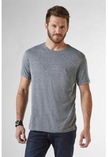 Camiseta Granito Reserva Masculina - Masculino-Cinza