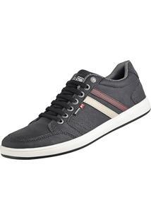 Sapatênis Casual Com Elástico Cr Shoes Leve Lançamento Preto