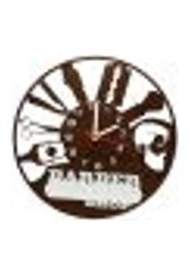 Relógio De Parede Decorativo - Modelo Barbershop