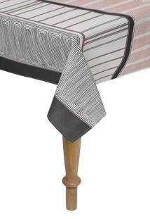 Toalha De Mesa Quadrada Karsten Limpa Fácil Kauê 140X140