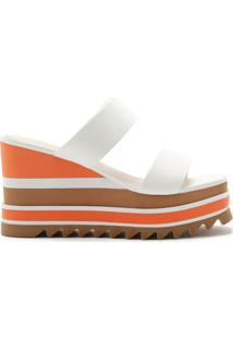 [On Demand] Sandália Anabela Sporty Multicolor/White | Schutz