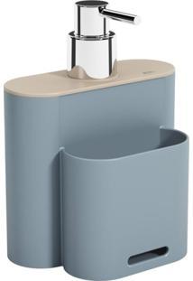 Dispenser Flat 500Ml Azul Coza