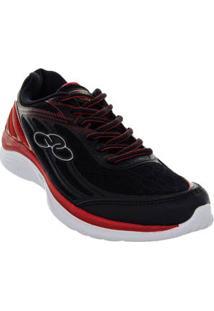 Tenis Running Preto Starter 341 Masculino Olympikus 56149023