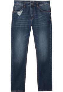Calça John John Slim Conde Jeans Azul Masculina (Jeans Medio, 40)