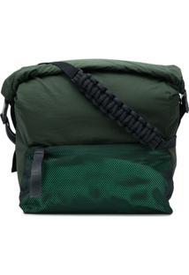 Bottega Veneta Paper Touch Nylon Messenger Bag - Verde