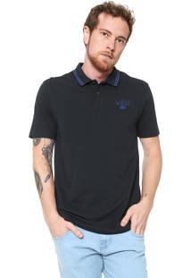 b0a3296680 ... Camisa Polo Calvin Klein Jeans Reta Logo Azul-Marinho