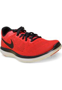 Tenis Masc Nike 830369-600 Flex 2016 Rn Vermelho/Preto