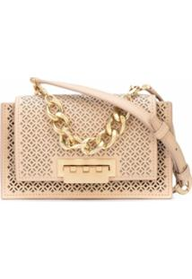 Zac Zac Posen Bolsa Transversal Earthette Mini - Neutro