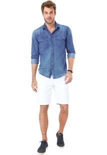 Camisa Jeans Adulto Malwee