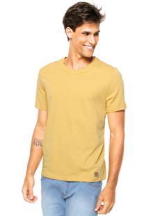 Camiseta Triton Bordado Amarelo