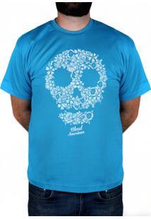 Camiseta Bleed American Flaw Turquesa
