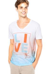 Camiseta Forum Muscle Live Multicolorida