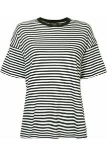 Nobody Denim Camiseta Organic Classic - Preto