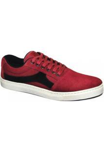Tenis Skatista Mhm Shoes Titan 7000 - Masculino-Vermelho
