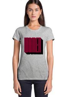 Camiseta Feminina Joss Women - Feminino-Cinza