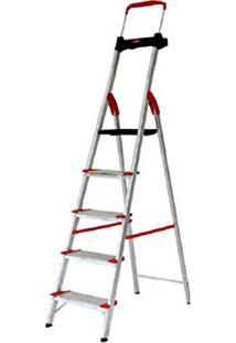 Escada Alumínio Comfort Alumasa 5 Degraus