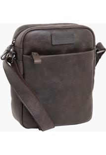 Bolsa Bennemann Schoulder Bag Marrom