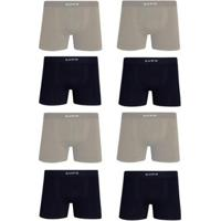 e3dd3dab3 Kit Cueca Lupo Boxer Microfibra Sem Costura 8 Peças - Masculino