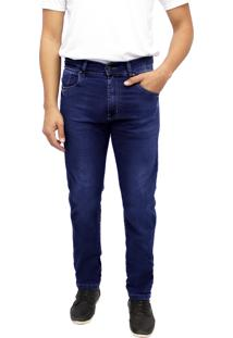 Calça Young Style Jeans Premier Jeans Semi Skinny Azul