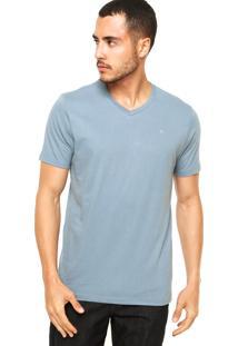 Camiseta Vila Romana Logo Azul