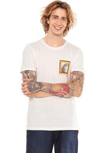 Camiseta Redley Silk Palmeiron Branca