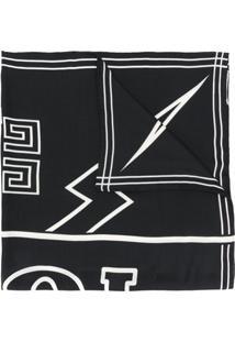 Givenchy Echarpe Estampada - Preto