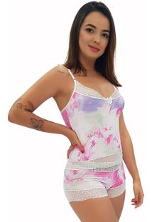 Baby Doll Camisete All Store Tie Dye