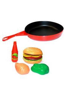 Frigideira Hambúrguer - Play Food