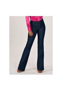 Calça Jeans Marinho Principessa Eleine