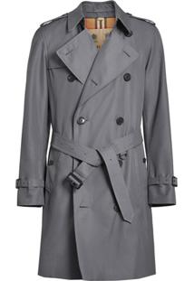 Burberry Trench Coat The Chelsea Heritage - Cinza