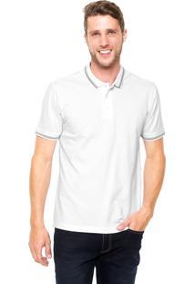 Camisa Polo Vr Regular Branca