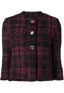 Liu Jo Embellished Button Jacket - Preto