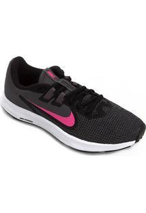 Tênis Nike Downshifter 9 Feminino - Feminino-Preto+Pink
