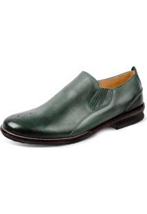 Sapato Social Sandro Moscoloni Lennon Verde