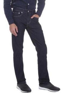 Calça Jeans Levis 511 Slim Fit Escuro - Masculino-Azul