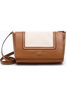 Bolsa Shoulder Bag Couro Canela - M