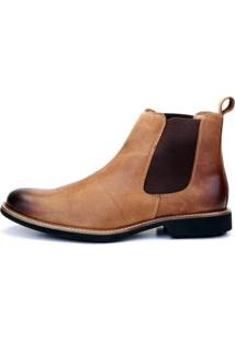 Bota The Box Project Cedar Masculina - Masculino-Caramelo