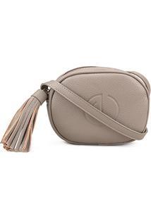 Bolsa Dumond Mini Bag Soft Relax Feminina - Feminino-Cáqui
