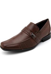 Sapato Social Mariner Metal Caramelo