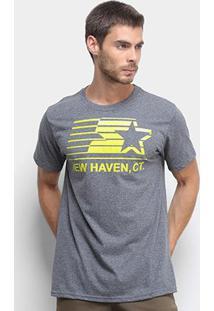 Camiseta Starter New Haven Masculina - Masculino-Grafite