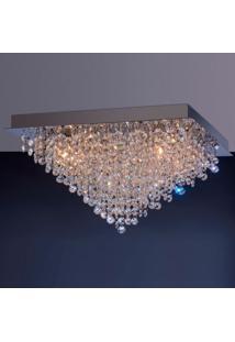 Luminária De Sobrepor 4,5W G9 Espelhado Pen6Lzsq Bronzearte