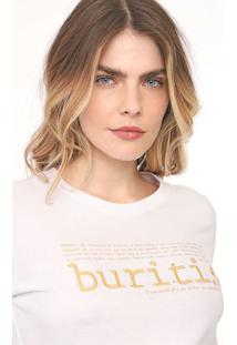 Camiseta Morena Rosa Bordada Branca