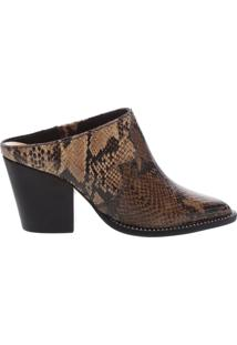 Mule New Western Python Multicolor Neutral | Schutz
