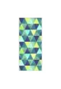 Adesivo Decorativo De Porta - Triângulos - 105Cnpt Auto Colante