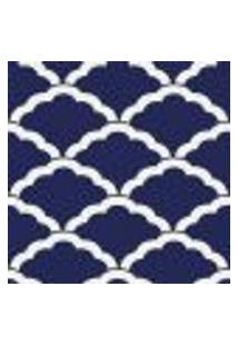 Papel De Parede Adesivo Abstrato Azul 0187 Rolo 0,58X3M
